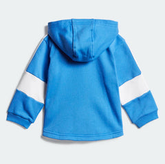 Adidas Kids Fleece Jogger Set Blue DV1276 Sportstar Pro Newcastle, 2300 NSW. Australia. 3
