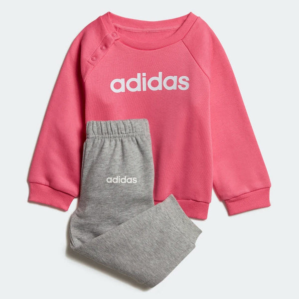 Adidas Kids Linear Fleece Jogger Set Pink DV1287 Sportstar Pro Newcastle, 2300 NSW. Australia. 1