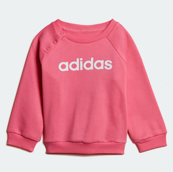 Adidas Kids Linear Fleece Jogger Set Pink DV1287 Sportstar Pro Newcastle, 2300 NSW. Australia. 2