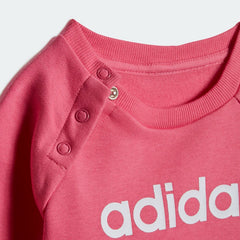 Adidas Kids Linear Fleece Jogger Set Pink DV1287 Sportstar Pro Newcastle, 2300 NSW. Australia. 6