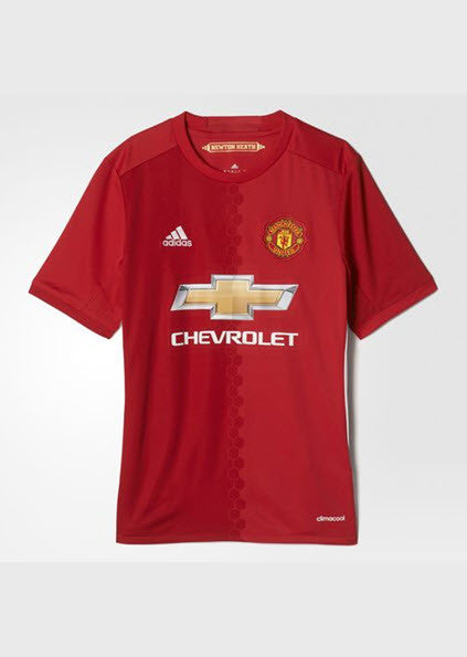 Adidas Manchester United FC Home Replica Jersey Youth