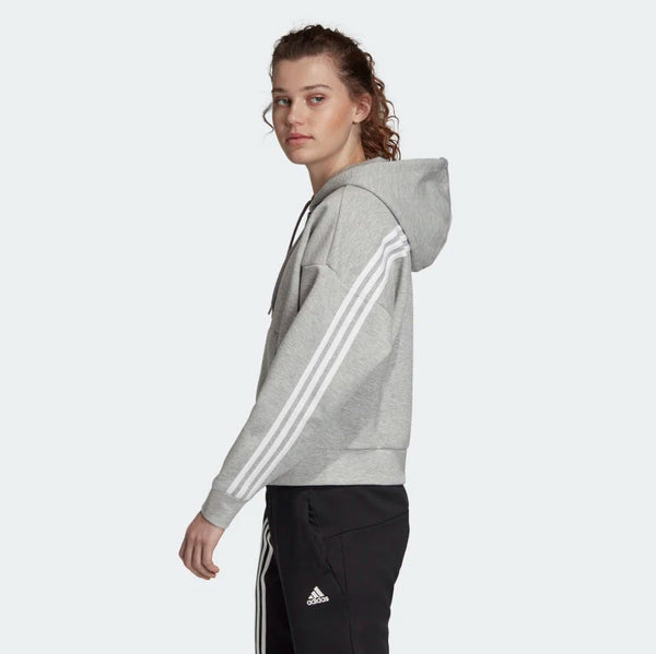 Adidas Must Haves 3-Stripes Hoodie Medium Grey Heather White EB3823 Sportstar Pro Newcastle, 2300 NSW. Australia. 2
