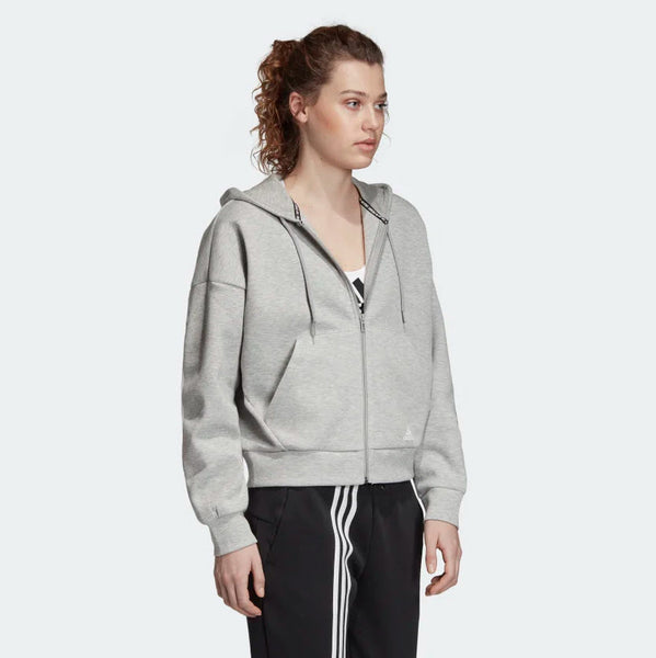 Adidas Must Haves 3-Stripes Hoodie Medium Grey Heather White EB3823 Sportstar Pro Newcastle, 2300 NSW. Australia. 4