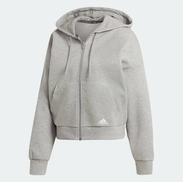 Adidas Must Haves 3-Stripes Hoodie Medium Grey Heather White EB3823 Sportstar Pro Newcastle, 2300 NSW. Australia. 5