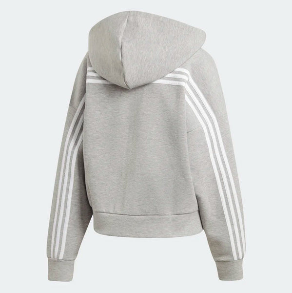 Adidas Must Haves 3-Stripes Hoodie Medium Grey Heather White EB3823 Sportstar Pro Newcastle, 2300 NSW. Australia. 6