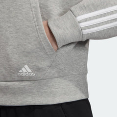 Adidas Must Haves 3-Stripes Hoodie Medium Grey Heather White EB3823 Sportstar Pro Newcastle, 2300 NSW. Australia. 8