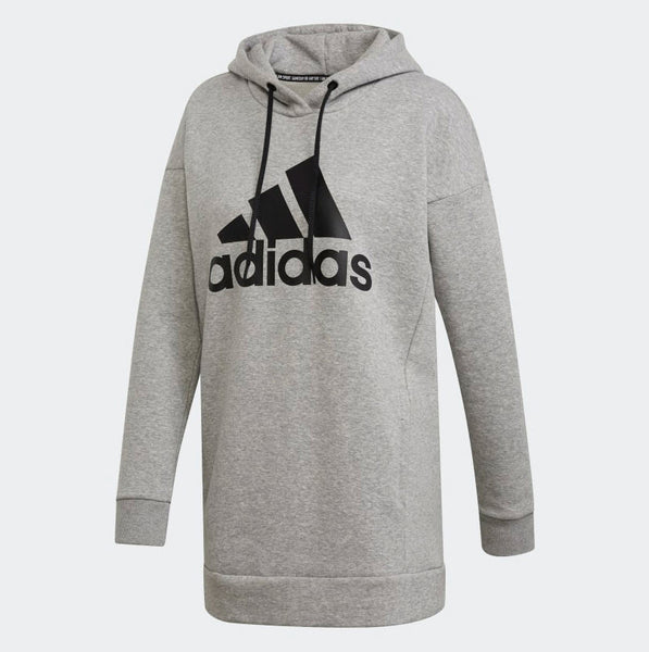 Adidas Must Haves Badge Of Sport Logo Hoodie Medium Grey Heather EB3801 Sportstar Pro Newcastle, 2300 NSW. Australia. 5
