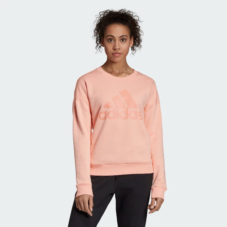 Adidas Must Haves Badge Of Sport Sweatshirt Glow Pink EB3814