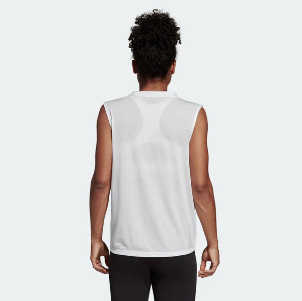 Adidas Must Haves Badge of Sport Tank Top White DP2409 Sportstar Pro Newcastle, 2300 NSW. Australia. 3