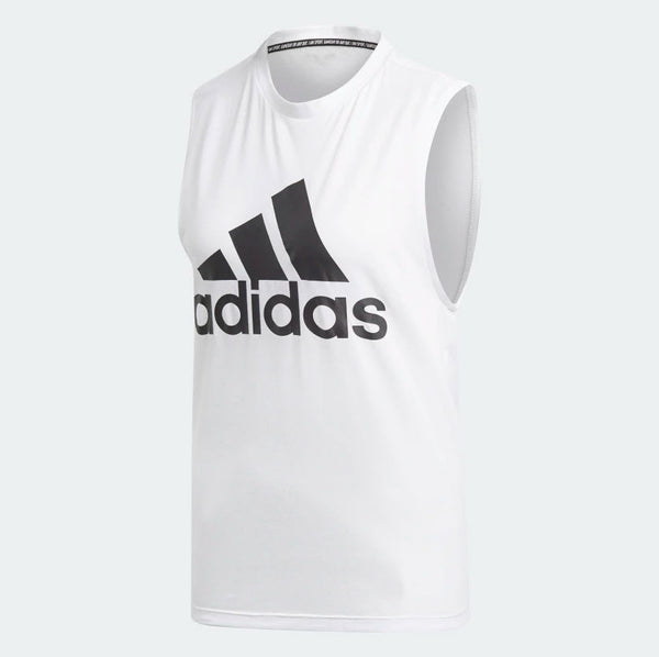 Adidas Must Haves Badge of Sport Tank Top White DP2409 Sportstar Pro Newcastle, 2300 NSW. Australia. 5