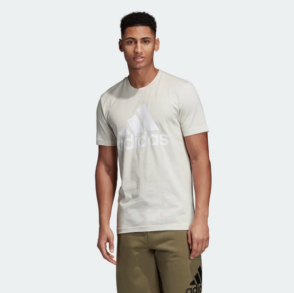 Adidas Must Haves Badge of Sport Tee Raw White DQ1457 Sportstar Pro Newcastle, 2300 NSW. Australia. 1
