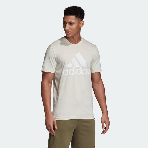 Adidas Must Haves Badge of Sport Tee Raw White DQ1457 Sportstar Pro Newcastle, 2300 NSW. Australia. 4