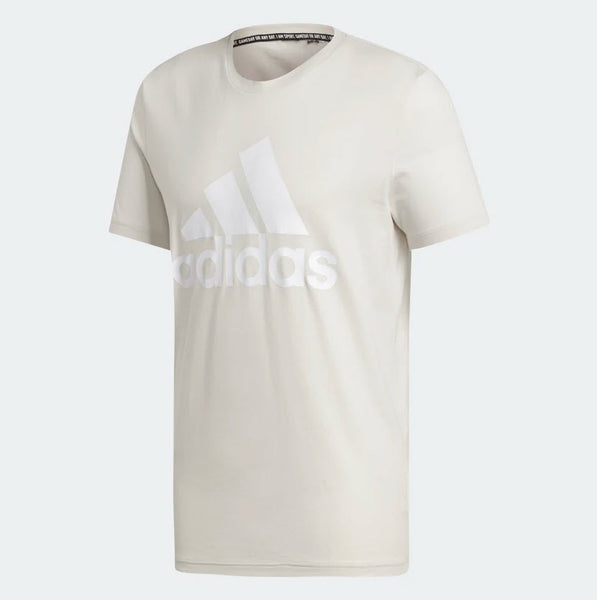 Adidas Must Haves Badge of Sport Tee Raw White DQ1457 Sportstar Pro Newcastle, 2300 NSW. Australia. 5