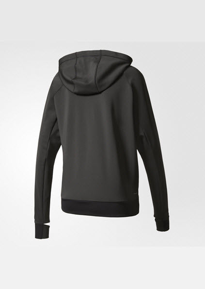 Adidas Performance Hoodie Black BK7675 Don't let cold weather get in the way of your dedicated workouts. This women's training jacket features a high neck, drawcord hood and thumb holes for warmth. The stretch fit gives you a supportive, wide range of motion. climalite® fabric sweeps sweat away from your skin Front poc Sport Star Pro Newcastle 2300 NSW Australia