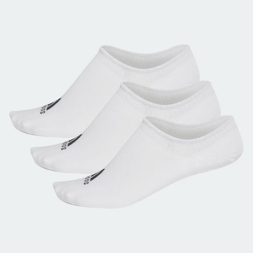 Adidas Performance Invisible Socks 3 Pair White CF3390 Sportstar Pro Newcastle, 2300 NSW. Australia. 1