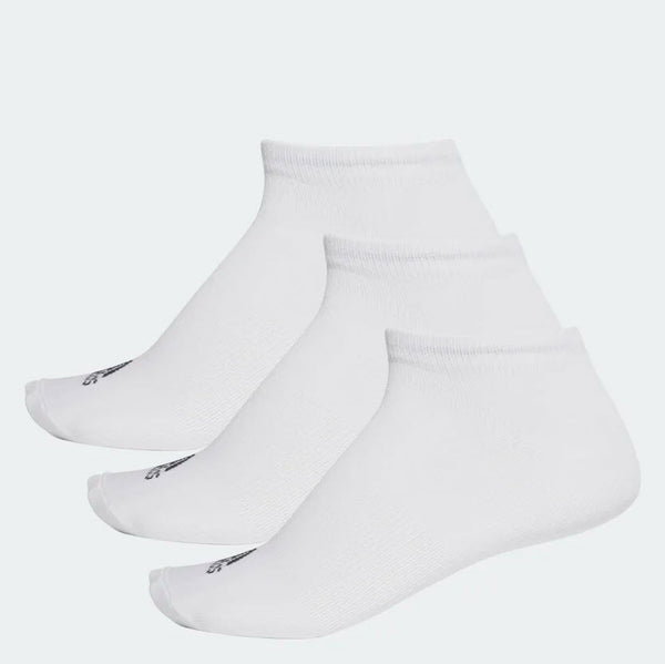 Adidas Performance No-Show Thin Socks 3 Pair White AA2311 Sportstar Pro Newcastle, 2300 NSW. Australia. 1