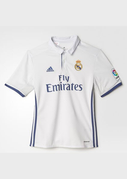 Adidas Real Madrid Home Replica Jersey Youth