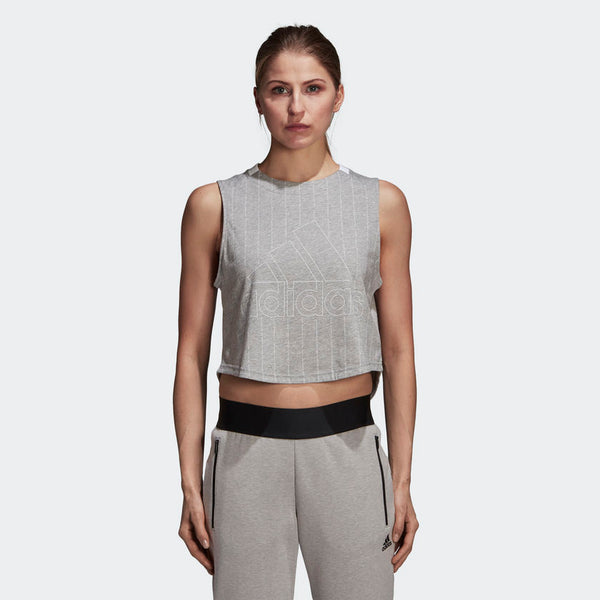 Adidas Sport ID Tank Top Medium Grey Heather White CZ5668 Sportstar Pro Newcastle, 2300 NSW. Australia. 1