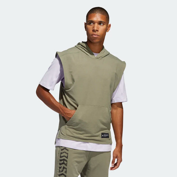Adidas TKO Sleeveless Hooded Tee Legacy Green FJ5128 Sportstar Pro Newcastle, 2300 NSW Australia. 1