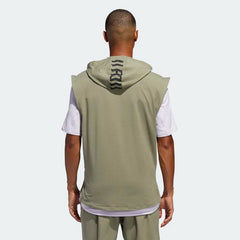 Adidas TKO Sleeveless Hooded Tee Legacy Green FJ5128 Sportstar Pro Newcastle, 2300 NSW Australia. 3