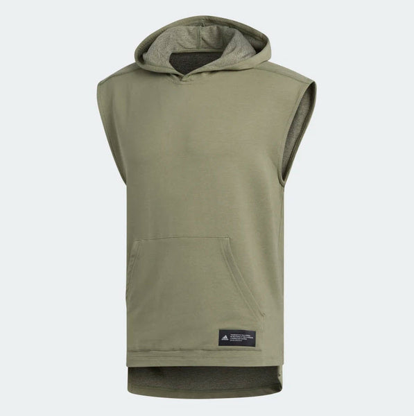 Adidas TKO Sleeveless Hooded Tee Legacy Green FJ5128 Sportstar Pro Newcastle, 2300 NSW Australia. 5