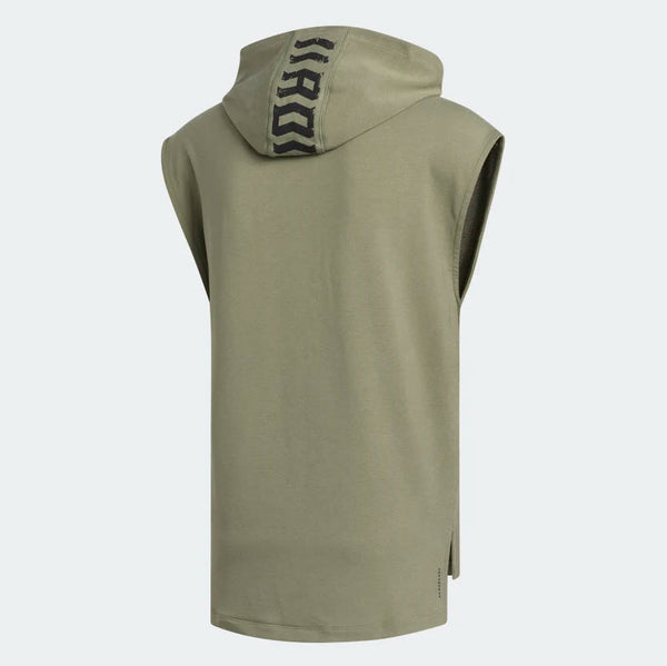 Adidas TKO Sleeveless Hooded Tee Legacy Green FJ5128 Sportstar Pro Newcastle, 2300 NSW Australia. 6