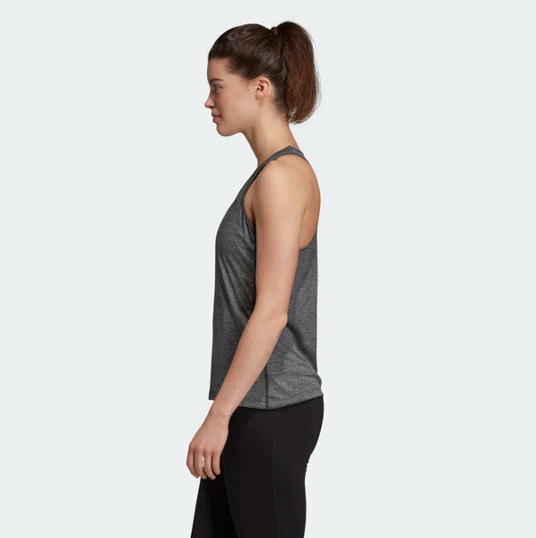 Adidas Tech Prime 3-Stripes Tank Top Black Heather DU3447 Sportstar Pro Newcastle, 2300 NSW. Australia. 2
