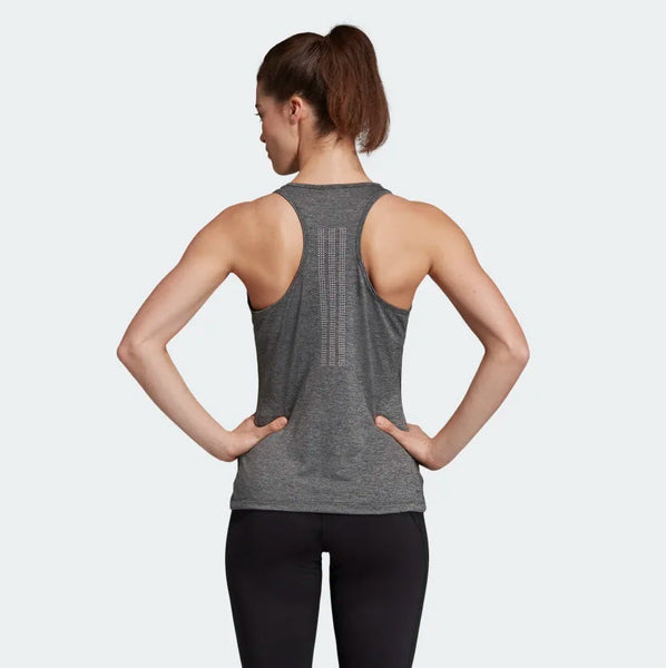 Adidas Tech Prime 3-Stripes Tank Top Black Heather DU3447 Sportstar Pro Newcastle, 2300 NSW. Australia. 3