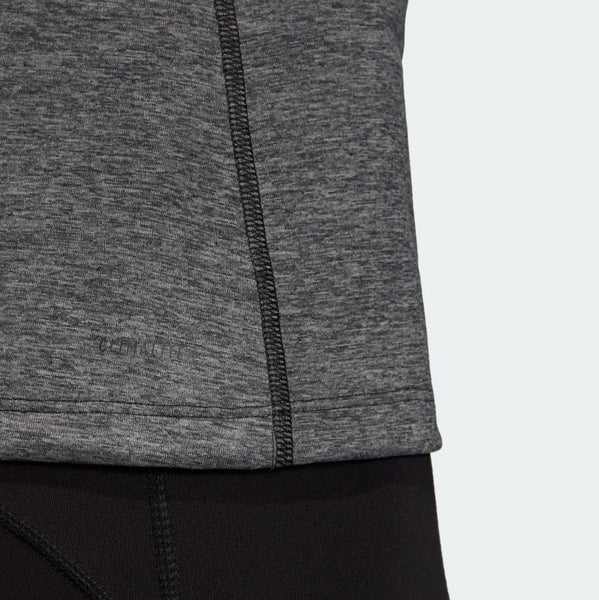 Adidas Tech Prime 3-Stripes Tank Top Black Heather DU3447 Sportstar Pro Newcastle, 2300 NSW. Australia. 7