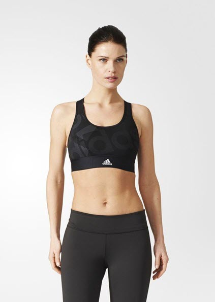 Adidas Techfit Badge of Sport Bra Black BR7932