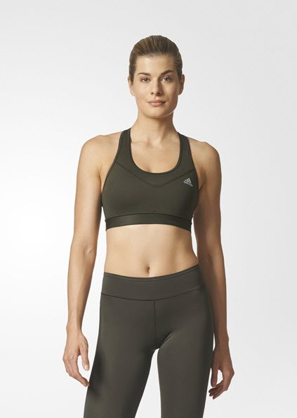 Adidas Techfit Base Bra Cargo Night / Matte Silver BQ0875