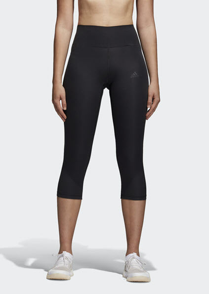 Adidas Ultimate Climalite 3/4 Tights Black CD3126 - WOMEN'S TRAINING. Sportstar Pro Newcastle, 2300 NSW Australia.