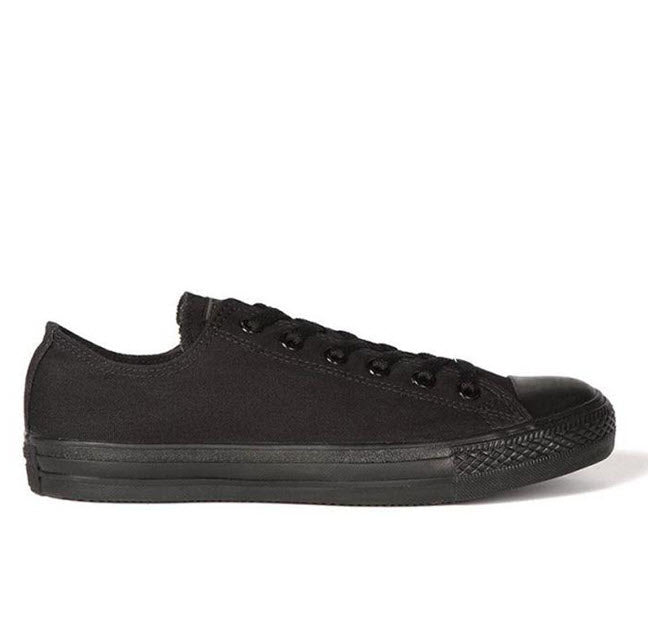 Converse Chuck Taylor All Star Classic Black Mono Canvas Low Top 15039