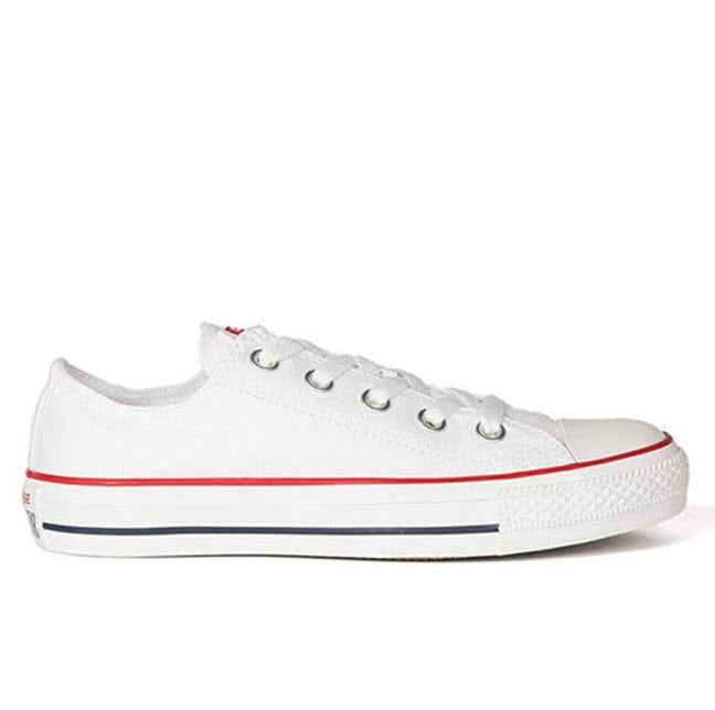 Converse Chuck Taylor All Star Classic Optical White Canvas Low Top M17652C