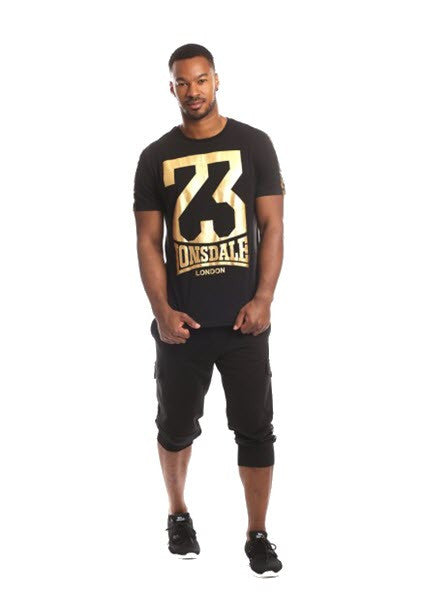 Lonsdale London Staton Black/Gold LM13118T