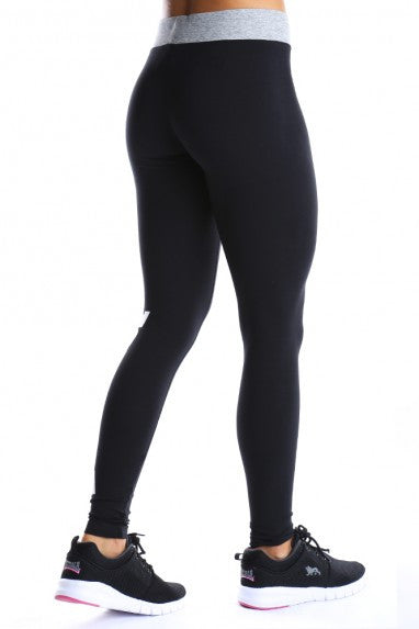 Lonsdale London Able Leggings Black/White LWE425L