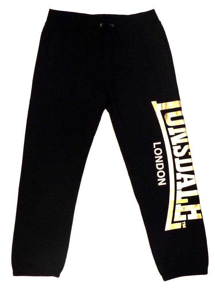 Lonsdale London Ross Trackpant Black/Gold LE594TP