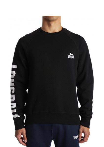 Lonsdale London Sebby Long Sleeve Tee Black LES535L5