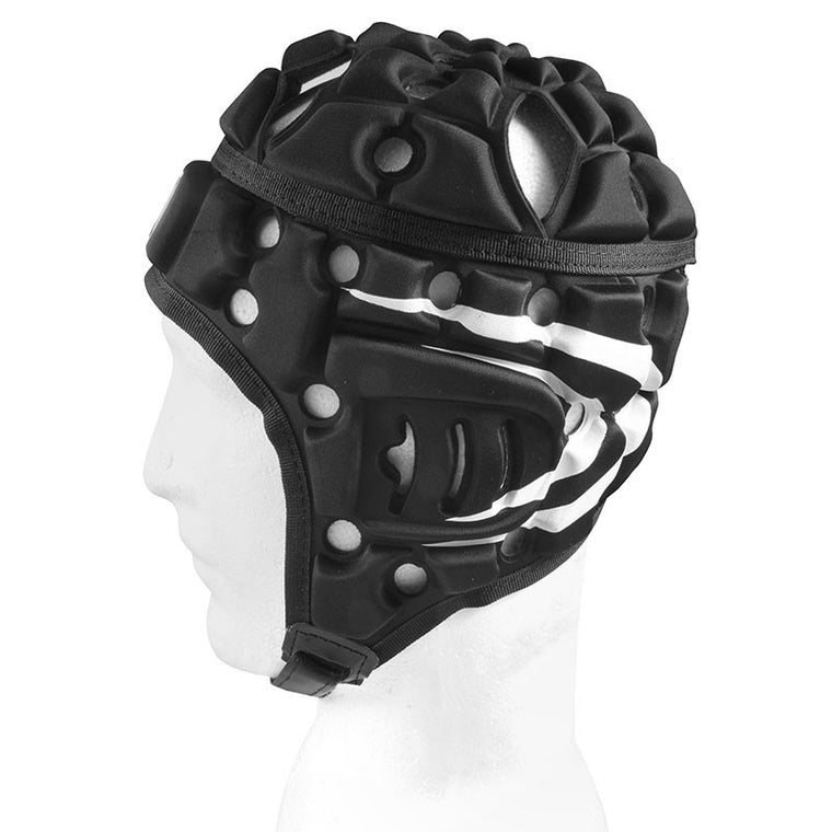 Madison Air Flo Cool Headguard Black With Stripes