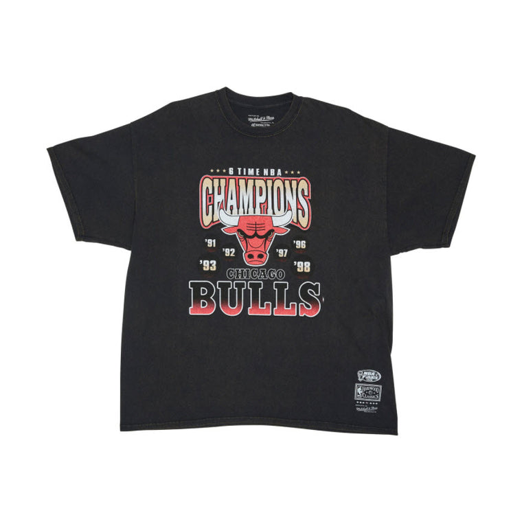 Mitchell & Ness Chicago Bulls Vintage Champions Tee