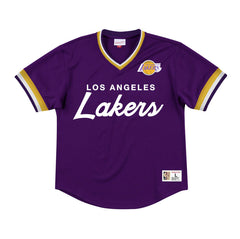 Mitchell & Ness Men's Special Script Mesh V-Neck Los Angeles Lakers Sportstar Pro Newcastle, 2300 NSW. Australia. 1