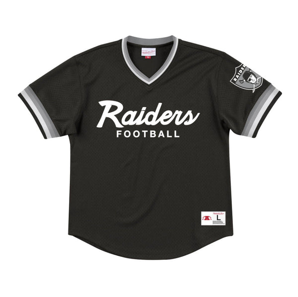 Mitchell & Ness Men's Special Script Mesh V-Neck Oakland Raiders Sportstar Pro Newcastle, 2300 NSW. Australia. 1