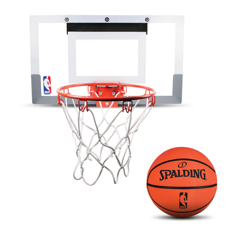 NBA Basketball Slam Jam Team Mini Spalding 18'' x 10.5'' Polycarbonate Backboard