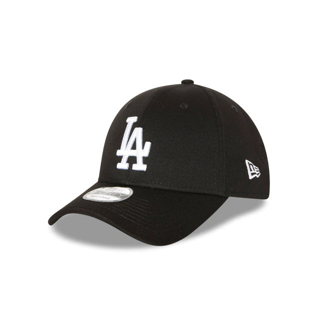 New Era Los Angeles Dodgers Black 9FORTY Strapback Cap
