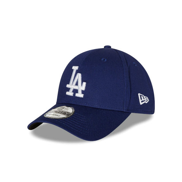 New Era Los Angeles Dodgers Dark Royal 9FORTY Strapback Cap