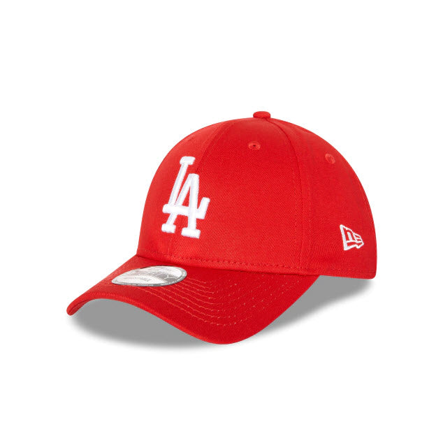 New Era Los Angeles Dodgers Red 9FORTY Strapback Cap