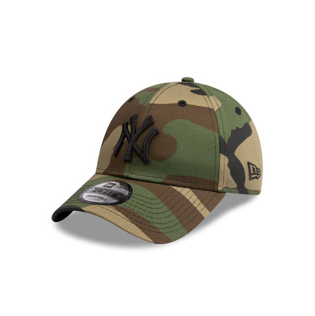 New Era New York Yankees Camo 9FORTY Strapback Cap