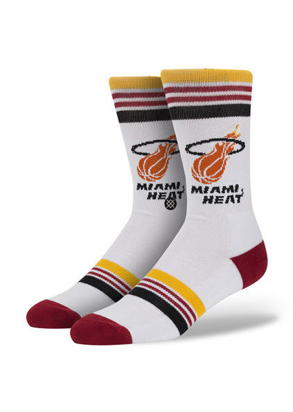 Stance NBA Heat Socks M313AHEA