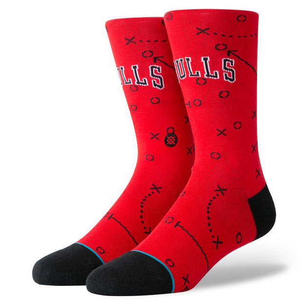 Stance Socks NBA Bulls Playbook Socks M545A19BUL  Sportstar Pro Newcastle, 2300 NSW. Australia. 1