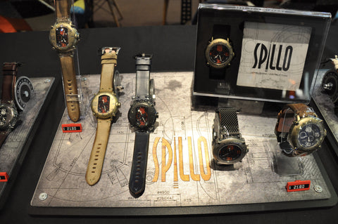When Speed Demon Make Watches; SPILLO.